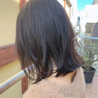 ミディアムヘアー ナチュラル 鎖骨ミディアム かわいい ヘアスタイルや髪型の写真・画像