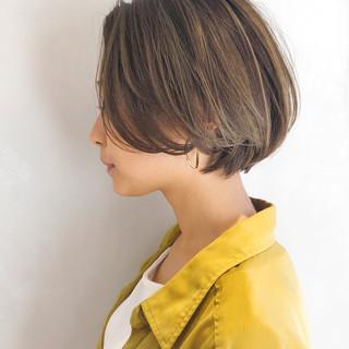 パーマ エレガント ハンサムショート ヘアアレンジ ヘアスタイルや髪型の写真・画像