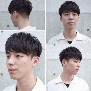 メンズヘア ナチュラル メンズショート ショート ヘアスタイルや髪型の写真・画像