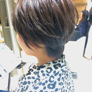 髪質改善トリートメント ショート 小顔ショート ショートヘア ヘアスタイルや髪型の写真・画像