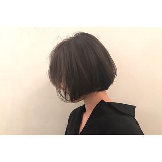 色気 ボブ ワンレングス ニュアンス ヘアスタイルや髪型の写真・画像