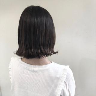 切りっぱなしボブ ショートヘア ショートボブ エレガント ヘアスタイルや髪型の写真・画像
