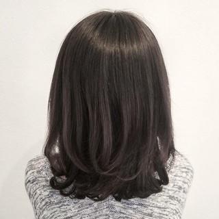 ミディアム 大人かわいい トレンド ナチュラル ヘアスタイルや髪型の写真・画像