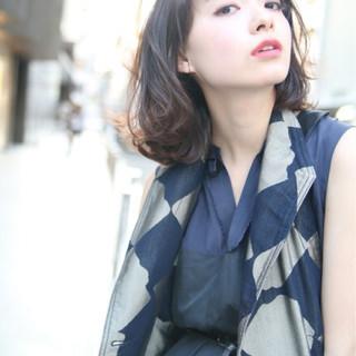 ストリート ヘアアレンジ 黒髪 大人女子 ヘアスタイルや髪型の写真・画像