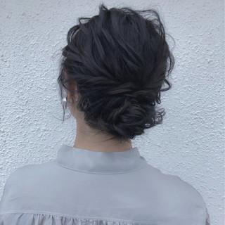 ナチュラル 成人式 結婚式 ウェーブ ヘアスタイルや髪型の写真・画像