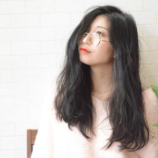 髪質改善トリートメント 美髪 パーマ 黒髪 ヘアスタイルや髪型の写真・画像