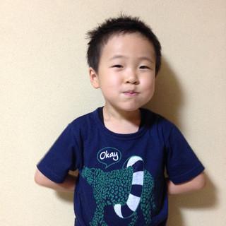 子供 ボーイッシュ メンズ ショート ヘアスタイルや髪型の写真・画像 ヘアスタイルや髪型の写真・画像