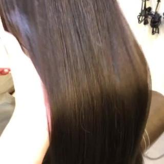 ヘアカラー トリートメント 最新トリートメント ロング ヘアスタイルや髪型の写真・画像 ヘアスタイルや髪型の写真・画像
