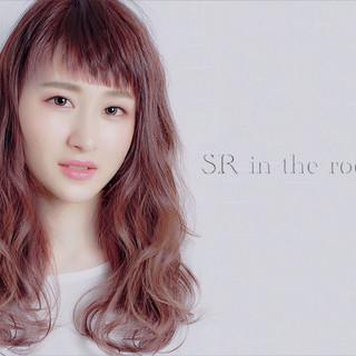 ロング デート ニュアンス ヘアアレンジ ヘアスタイルや髪型の写真・画像