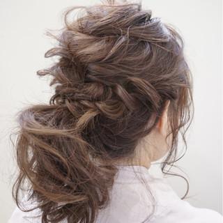 ゆるふわ 外国人風 ヘアアレンジ ロング ヘアスタイルや髪型の写真・画像 ヘアスタイルや髪型の写真・画像