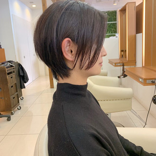 ショート  ふんわり 可愛い ヘアスタイルや髪型の写真・画像