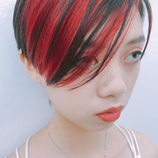 外国人風 ウェーブ ショート モード ヘアスタイルや髪型の写真・画像 ヘアスタイルや髪型の写真・画像