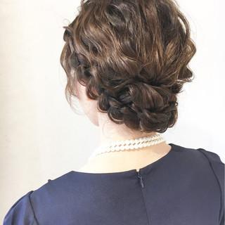 ショート ヘアアレンジ フェミニン ミディアム ヘアスタイルや髪型の写真・画像