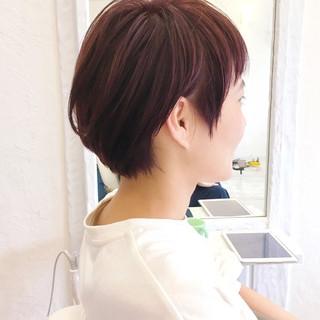 ショート マッシュ 大人かわいい 秋 ヘアスタイルや髪型の写真・画像