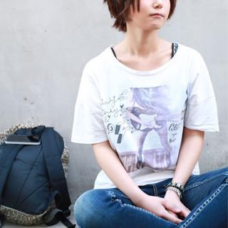 小顔 かわいい ショート 大人かわいい ヘアスタイルや髪型の写真・画像