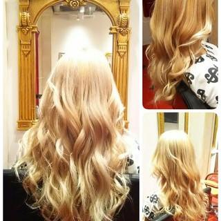 ストリート パープル ブリーチ ハイトーン ヘアスタイルや髪型の写真・画像