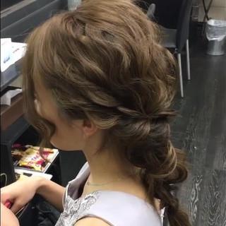 エレガント ロング 二次会 結婚式 ヘアスタイルや髪型の写真・画像