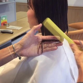 フリンジバング 色気 ナチュラル 大人女子 ヘアスタイルや髪型の写真・画像