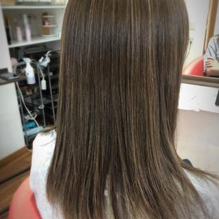 ロング 外国人風 外国人風カラー ハイライト ヘアスタイルや髪型の写真・画像