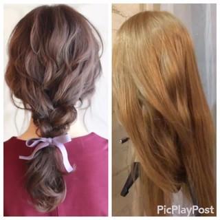 ゆるふわ 結婚式 ショート 簡単ヘアアレンジ ヘアスタイルや髪型の写真・画像