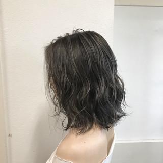 フェミニン ヘアアレンジ ボブ 外国人風カラー ヘアスタイルや髪型の写真・画像