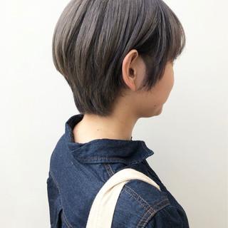 オフィス グレージュ デート アウトドア ヘアスタイルや髪型の写真・画像