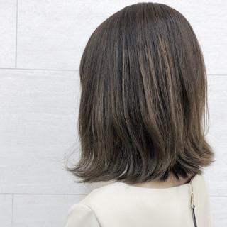 大人女子 ボブ ミディアム ナチュラル ヘアスタイルや髪型の写真・画像 ヘアスタイルや髪型の写真・画像
