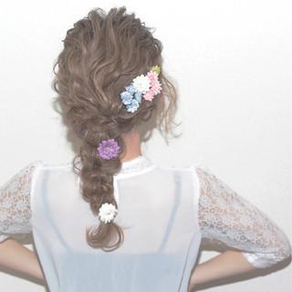 ゆるふわ 波ウェーブ 愛され セミロング ヘアスタイルや髪型の写真・画像 ヘアスタイルや髪型の写真・画像
