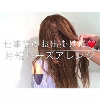 ナチュラル 涼しげ ロング 色気 ヘアスタイルや髪型の写真・画像