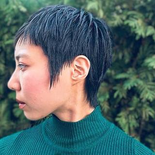 オシャレ 大人ショート ショート 簡単スタイリング ヘアスタイルや髪型の写真・画像