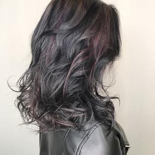 ミディアム 外国人風 アッシュ 透明感 ヘアスタイルや髪型の写真・画像