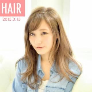 モテ髪 ナチュラル コンサバ ロング ヘアスタイルや髪型の写真・画像