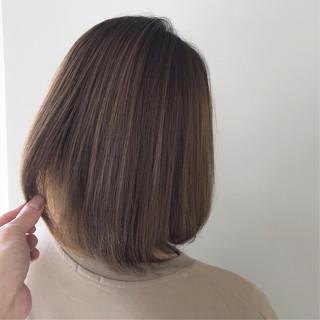 ナチュラル ボブ 外国人風カラー デート ヘアスタイルや髪型の写真・画像 ヘアスタイルや髪型の写真・画像