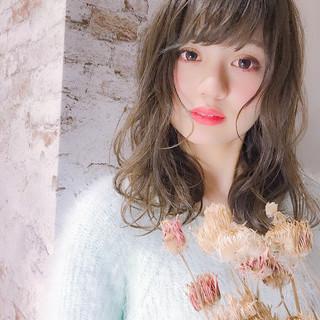 イルミナカラー フェミニン モテ髪 髪質改善 ヘアスタイルや髪型の写真・画像
