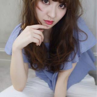 外国人風 大人かわいい ガーリー 大人女子 ヘアスタイルや髪型の写真・画像