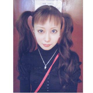 簡単ヘアアレンジ ロング ピュア ハーフアップ ヘアスタイルや髪型の写真・画像