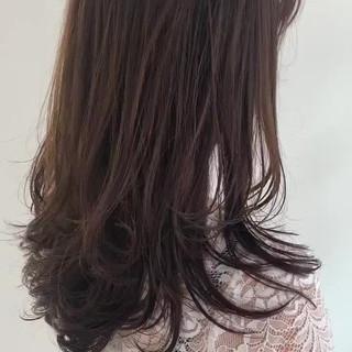透明感カラー レイヤーカット ナチュラル ヘアアレンジ ヘアスタイルや髪型の写真・画像