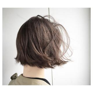 オフィス 外ハネ ボブ 外国人風 ヘアスタイルや髪型の写真・画像