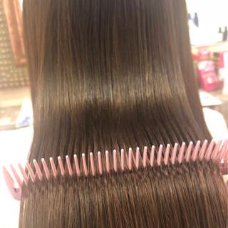 ナチュラル ストレート ロング トリートメント ヘアスタイルや髪型の写真・画像 ヘアスタイルや髪型の写真・画像
