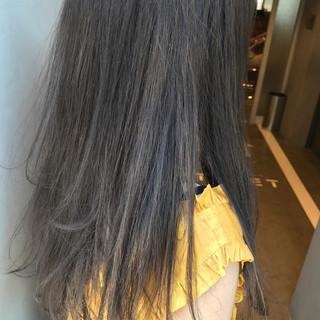 透明感 ナチュラル ロング 秋 ヘアスタイルや髪型の写真・画像