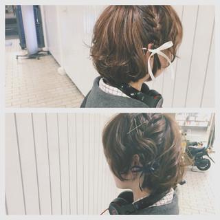 フェミニン ゆるふわ 外国人風 グラデーションカラー ヘアスタイルや髪型の写真・画像
