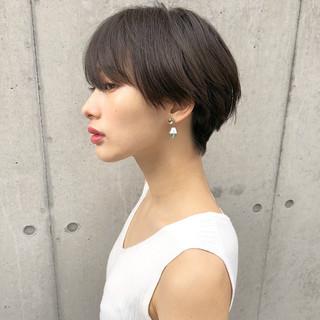 ショート女子 ハンサムショート ショートボブ ベリーショート ヘアスタイルや髪型の写真・画像