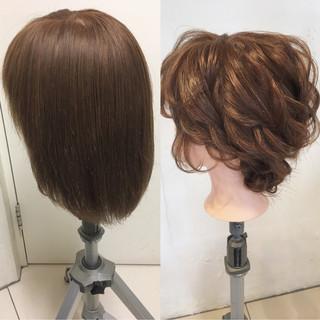 ゆるふわ 大人かわいい ミディアム ヘアアレンジ ヘアスタイルや髪型の写真・画像