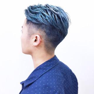 オルチャン ショート モード ハイトーン ヘアスタイルや髪型の写真・画像 ヘアスタイルや髪型の写真・画像