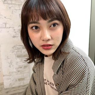 大人かわいい ナチュラル パーマ 小顔ヘア ヘアスタイルや髪型の写真・画像