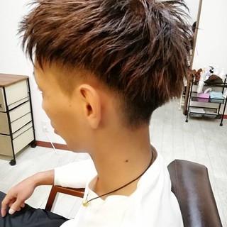 メンズカット ナチュラル ショート メンズ ヘアスタイルや髪型の写真・画像