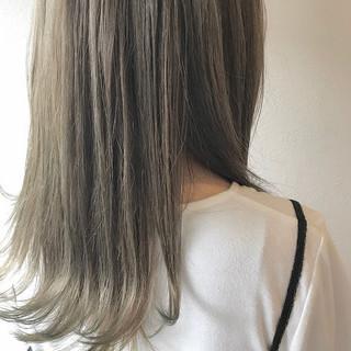 ガーリー 秋冬スタイル 圧倒的透明感 透明感カラー ヘアスタイルや髪型の写真・画像