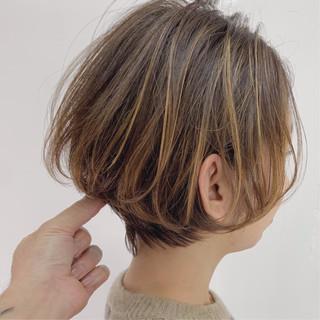ミニボブ ショート ショートボブ 大人かわいい ヘアスタイルや髪型の写真・画像