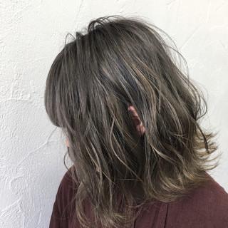ボブ シルバー シルバーアッシュ アッシュ ヘアスタイルや髪型の写真・画像 ヘアスタイルや髪型の写真・画像