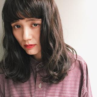 ゆるふわ 外国人風 パーマ ストリート ヘアスタイルや髪型の写真・画像